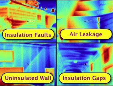 hidden air leaks infrared scanning