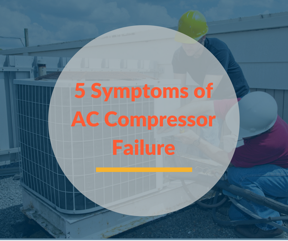 Signs That Your AC Compressor Has Broken Down