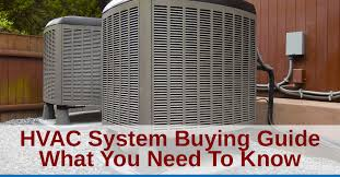 HVAC System Buying Guide