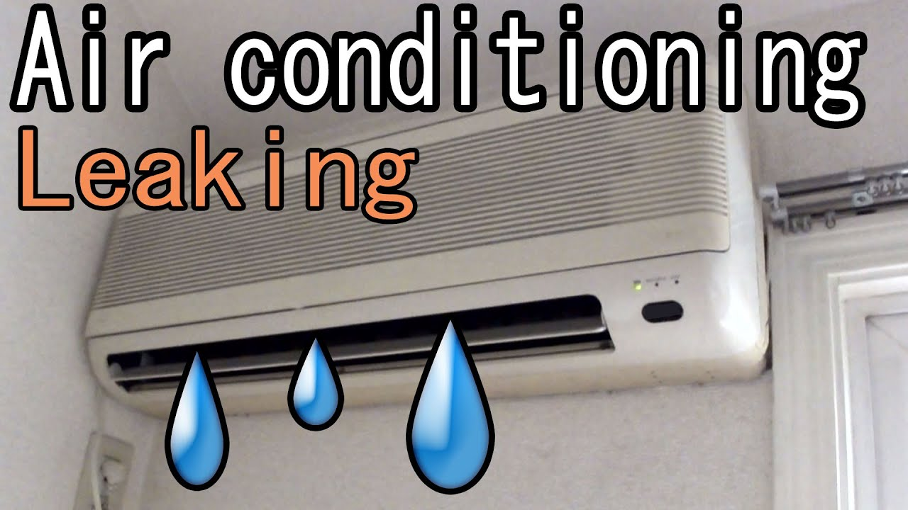 Common Causes of AC Water Leakage