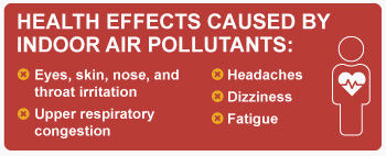 Which Types of Indoor Air Pollutants Have The Most Impact on Your Health?